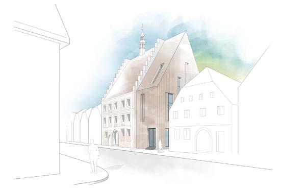 2. Preis Rathaus Weismain
